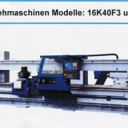 STANKO-CNC-Drehmaschine Modell: 1M63F3 und 16K40F3