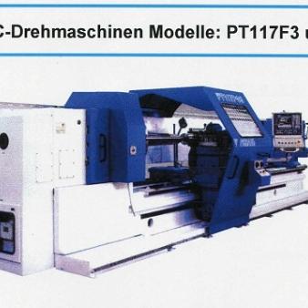 STANKO-CNC-Drehmaschine Modell: PT117F3 und PT817F3