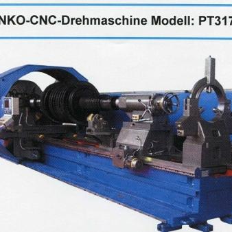 STANKO-CNC-Drehmaschine Modell: PT317F3